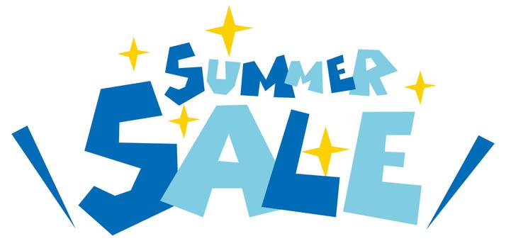 Summer sale ☆ SUMMER SALE logo