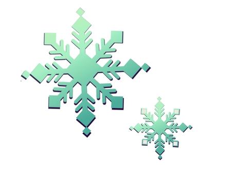 Snow crystal ⑥