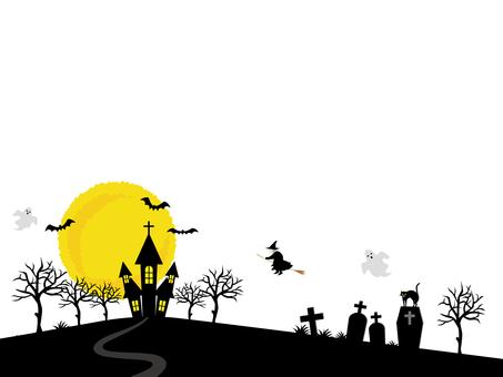 Halloween illustration background