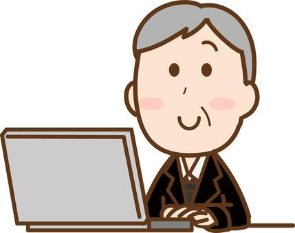 シニア パソコン ビジネス1
