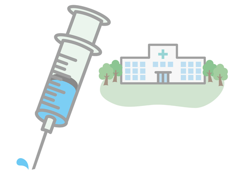 Syringes and hospitals