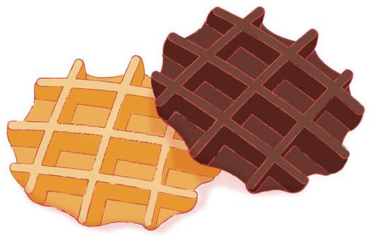 Waffle Plane & Choco