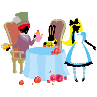 Alice 's tea party