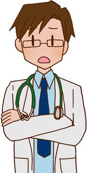 醫生/醫生/教師/白大衣