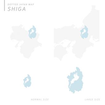 Dot map Shiga 1