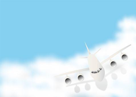 飛行機01_04(雲)