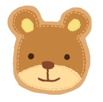 Bear patch style flake seal