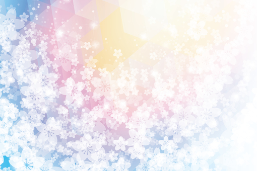 Sakura 45 - Rainbow fantasy