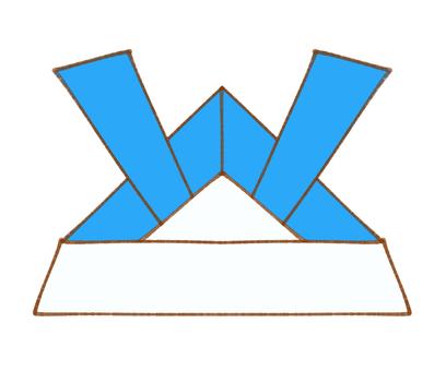 단오절의 투구 (파랑)