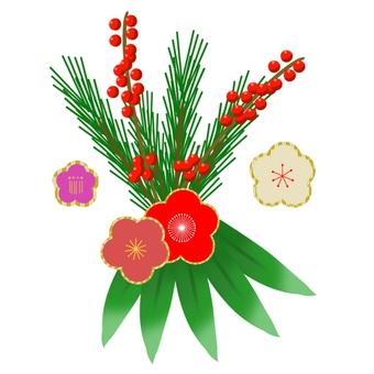New Year decoration ①