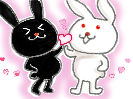 White rabbits and black rabbits