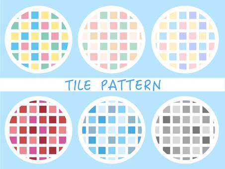 Tile pattern square
