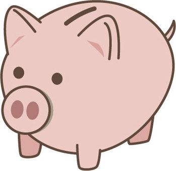Pig piggy bank 1