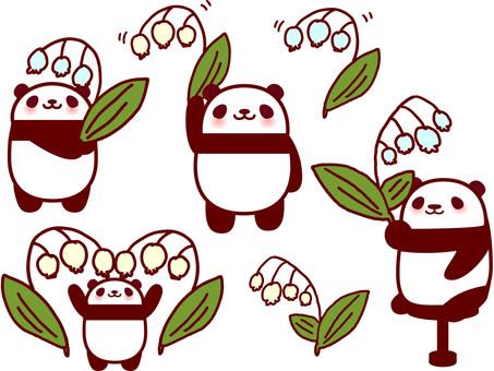 Suzuran and Panda