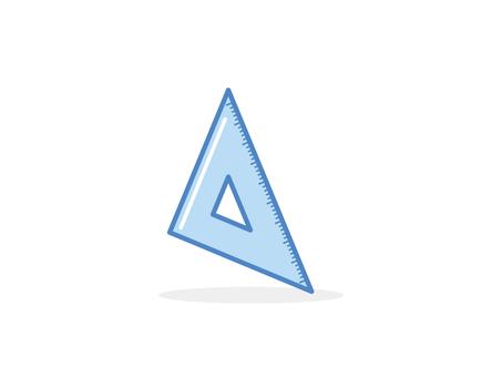 Triangle ruler B