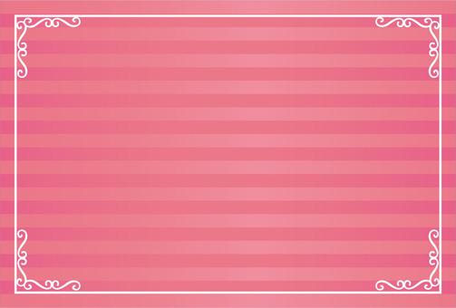 Luxurious frame pink