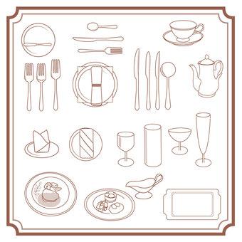 Tableware Western Tableware