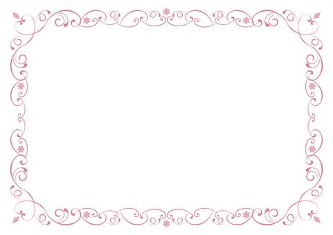 Heart's floral frame (ver.8)