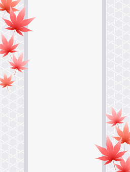 ai 단풍 배경 · 벽지 · 프레임 2