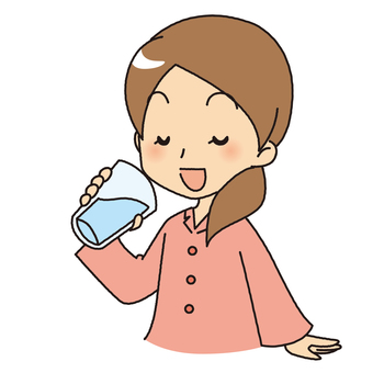 Drink water before going to bed