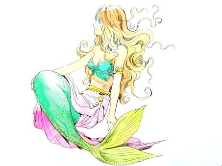 Ugly Mermaid (Color)