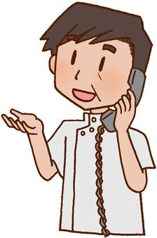 Telephone contact / information sharing / rehabilitation