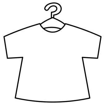 [No color] Short sleeve T-shirt with hanger