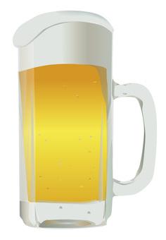 啤酒在夏天