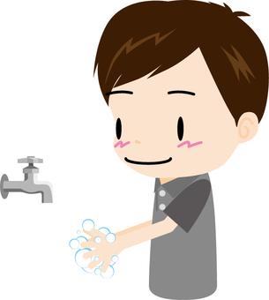 Hand wash (male)