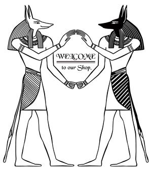 エジプト イラスト アヌビス-9