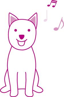 강아지 음표 06