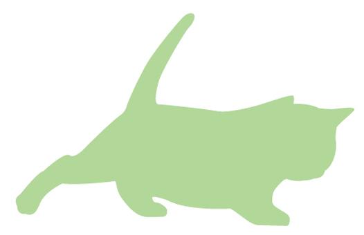 Cat's silhouette 17