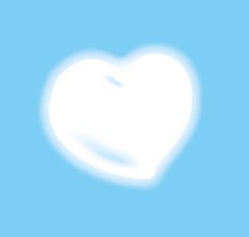 Fluffy Heart Cloud