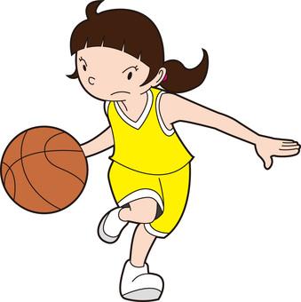 Dribble basketball chan