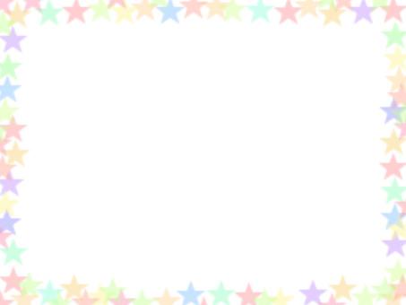 Cute star frame