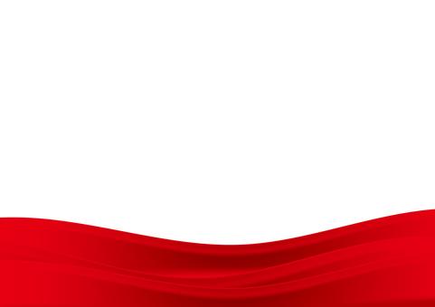 背景_彎曲的設計_紅色