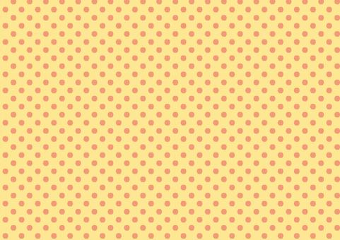 Background 【Polka dot pattern 01】