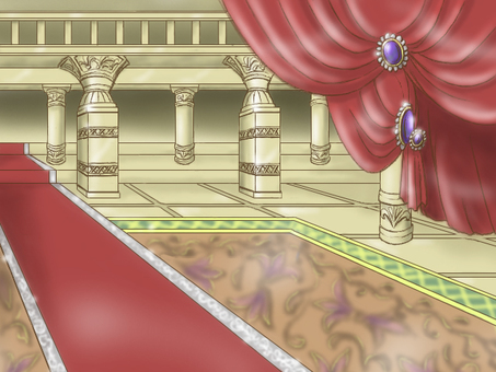 The royal passage A background illustration Ancient