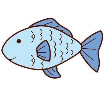 Animal illustration-fish