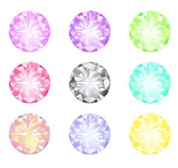 Colorful diamonds