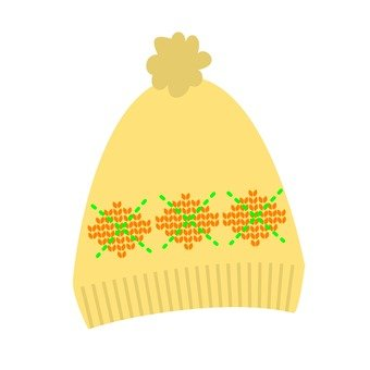 Knit Cap (Yellow)