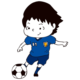 The man who kicks the ball