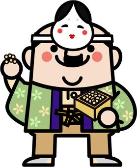 Uncle Fairy Setsubun Munaku
