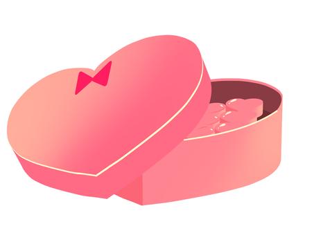 Box Heart Chocolate