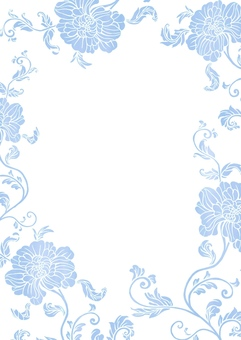 Flower pattern of Chinese style peony