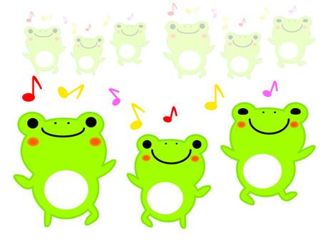 跳舞的青蛙