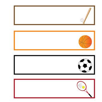 Sports frame