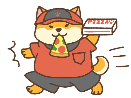 I brought a pizza!