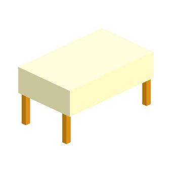 테이블 (크로스 포함) 선 없음