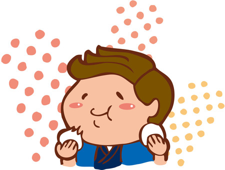A boy who eats mochi